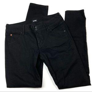 Hudson Jeans   Black Collin Flap Skinny Jeans